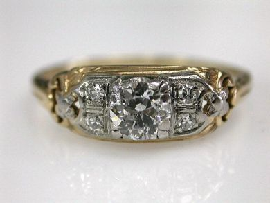 68712-November/Antique Diamond Ring Cynthia Findlay Antiques CFA120943