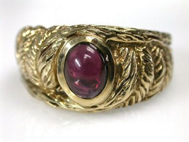 68712-November/Garnet Ring Cynthia Findlay Antiques CFA1209117