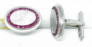 69010-October/Ruby Cufflinks Cynthia Findlay Antiques  69015  092112 9