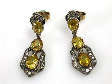 69010-October/Yellow Sapphire Earrings Cynthia CFA121025