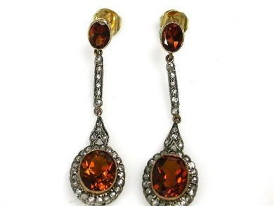 69101-November/Citrine Drops Cynthia Findlay Antiques CFA121061