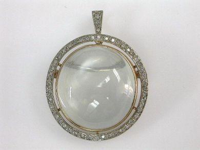 69101-November/Moonstone Pendant Cynthia Findlay Antiques CFA1210168