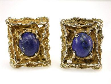 69101-November/Nugget Cufflinks Cynthia Findlay Antiques CFA1210166