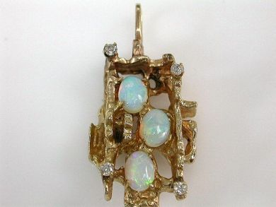 69101-November/Opal Pendant Cynthia Findlay Antiques CFA1210170