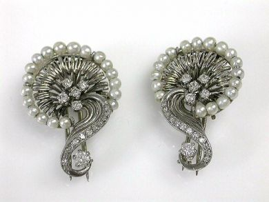 69101-November/Pearl Brooches Cynthia Findlay Antiques CFA121052C