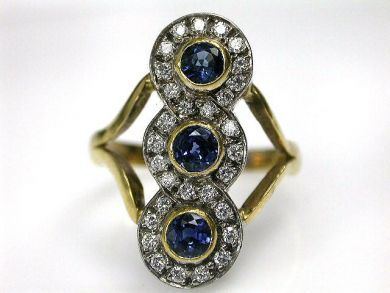 69101-November/Sapphire ring Cynthia Findlay Antiques CFA1210212