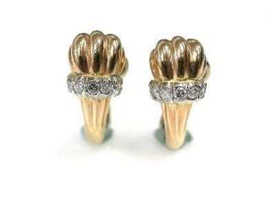 69101-November/Shell Motif Earrings Cynthia Findlay Antiques CFA1210152