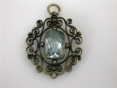 69200-November/Filigree Pendant Cynthia Findlay Antiques CFA1210344