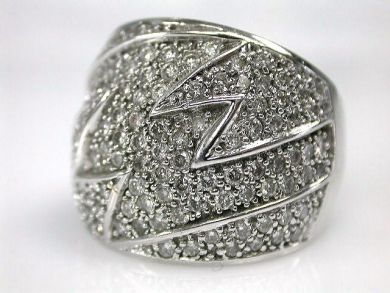 69200-November/Lightning Domed Ring Cynthia Findlay Antiques CFA1210272