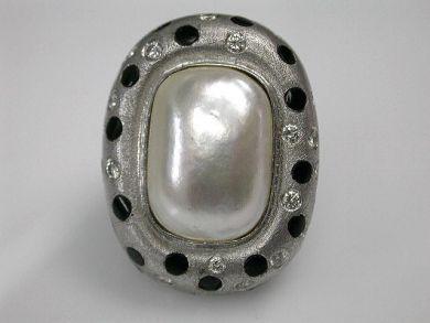 69200-November/Mabe Pearl Ring Cynthia Findlay Antiques CFA1210371