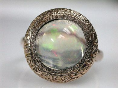69200-November/Opal Ring Cynthia Findlay Antiques CFA1210225