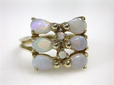 69200-November/Opal Ring Cynthia Findlay Antiques CFA1210387