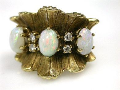 69200-November/Opal Ring Cynthia Findlay Antiques CFA1210389