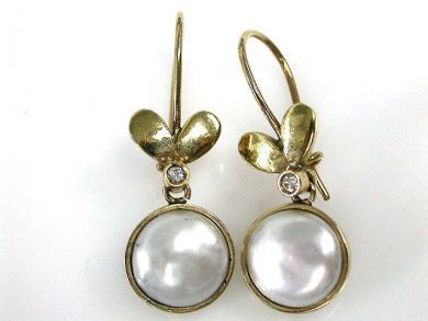 69200-November/Pearl Earrings Cynthia Findlay Antiques CFA1210396