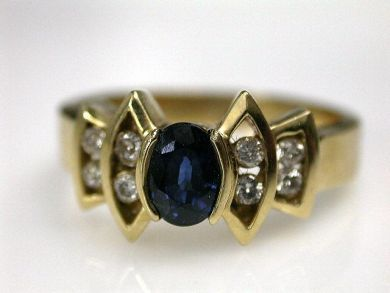 69200-November/Sapphire Ring Cynthia Findlay Antiques CFA1210221
