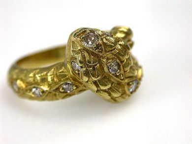 69200-November/Snake Ring Cynthia Findlay Antiques CFA1210390