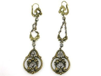 69367-December/Art Nouveau Earrings Cynthia Findlay Antiques CFA121274