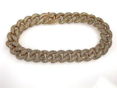 69367-December/Curb Link Diamond Bracelet Cynthia Findlay Antiques CFA121240