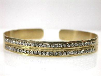 69367-December/Diamond Hinged Bangle Cynthia Findlay Antiques CFA121245