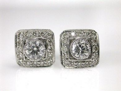 69367-December/Diamond Studs Cynthia Findlay Antiques CFA1212150