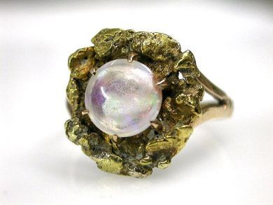 69367-December/Opal Nugget Ring Cynthia Findlay Antiques CFA1210444