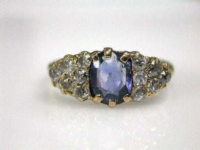 69367-December/Sapphire Ring Cynthia Findlay Antiques CFA1210442