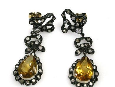 69462-January/Antique Earrings Cynthia Findlay Antiques CFA1211330