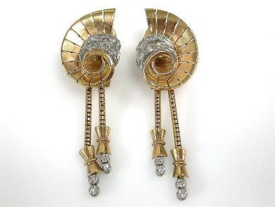 69462-January/Retro Earrings Cynthia Findlay Antiques CFA1211125