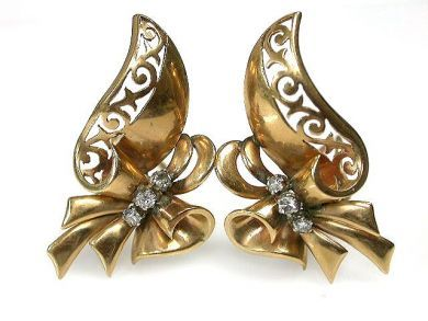 69462-January/Retro Earrings Cynthia Findlay Antiques CFA1211188