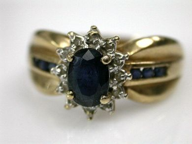 69462-January/Sapphire Ring Cynthia Findlay Antiques CFA1211317