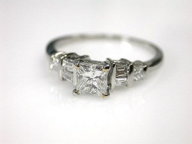69488-November/Princess Cut Diamond Cynthia Findlay Antiques CFA1211139