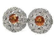 Spessartite Garnet Earrings