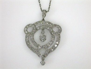 69537-January/Antique Diamond Pendant Cynthia Findlay Antiques CFA1211207