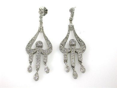 69537-January/Diamond Chandelier Earrings Cynthia Findlay Antiques CFA1211383