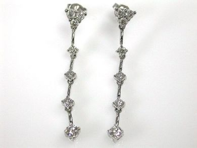 69537-January/Diamond Earrings Cynthia Findlay Antiques CFA1211179