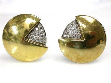 69537-January/Diamond Earrings Cynthia Findlay Antiques CFA1211205