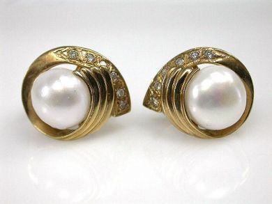 69537-January/Pearl Earrings Cynthia Findlay Antiques CFA1211202
