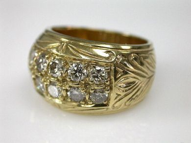 69599-January/Bombe Ring Cynthia Findlay Antiques CFA1211287