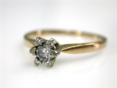 69599-January/Diamond Engagement Ring Cynthia Findlay Antiques CFA1211349