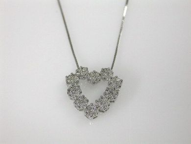69599-January/Diamond Heart Pendant Cynthia Findlay Antiques CFA1211339