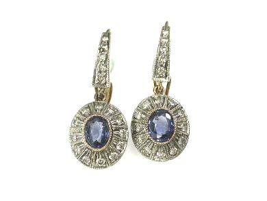 Classic Sapphire Earrings