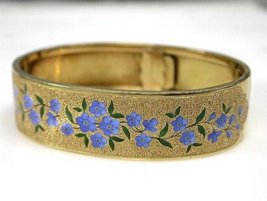 69795-January/Enamel Bangle Cynthia Findlay Antiques CFA1212270 1
