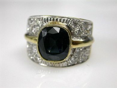 69795-January/Sapphire Ring Cynthia Findlay Antiques CFA1212246