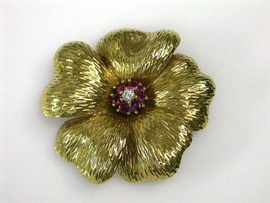 69795-January/Tiffany Flower Cynthia Findlay Antiques CFA1212268