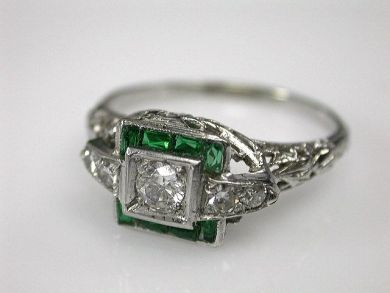 Edwardian Engagement Ring