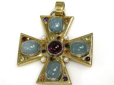 69994-January/Maltese Cross Cynthia Findlay Antiques CFA121285