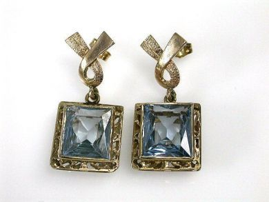 69994-January/Spinel Earrings Cynthia Findlay Antiques CFA1212290