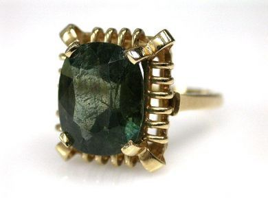69994-January/Tourmaline Solitaire Cynthia Findlay Antiques CFA1212295
