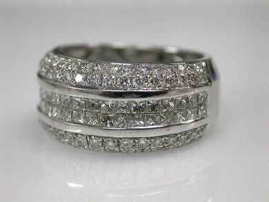 70024-January/Princess Cut Diamond Band Cynthia Findlay Antiques CFA1212329