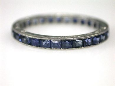 70024-January/Sapphire Eternity Band Cynthia Findlay Antiques CFA1212368
